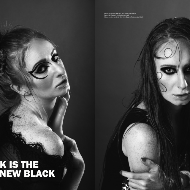Renata Clarke photographs published in Marti Magazine
