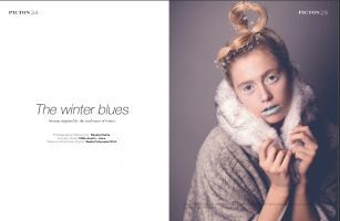 The winter beauty image edit