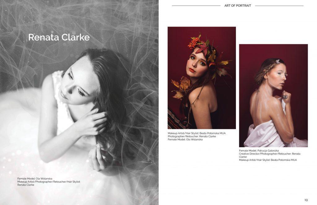 Renata Clarke photos published in Art of Portrait