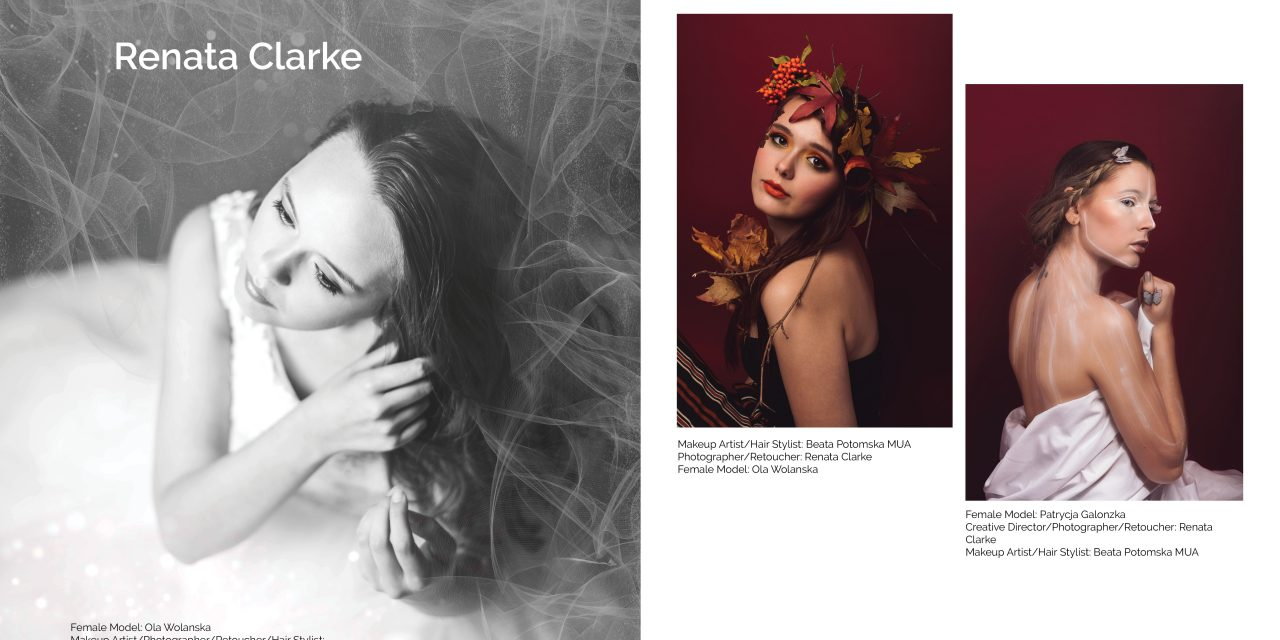 Renata Clarke photos published in Art of Portrait