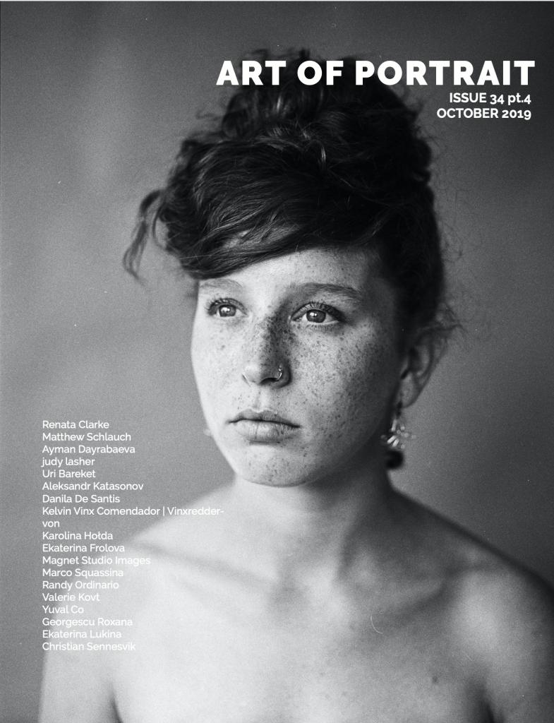 Art of Portrait Magazine cover