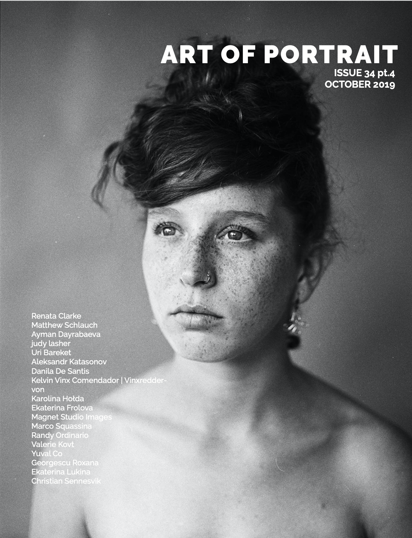 Art of Portrait Magazine cover