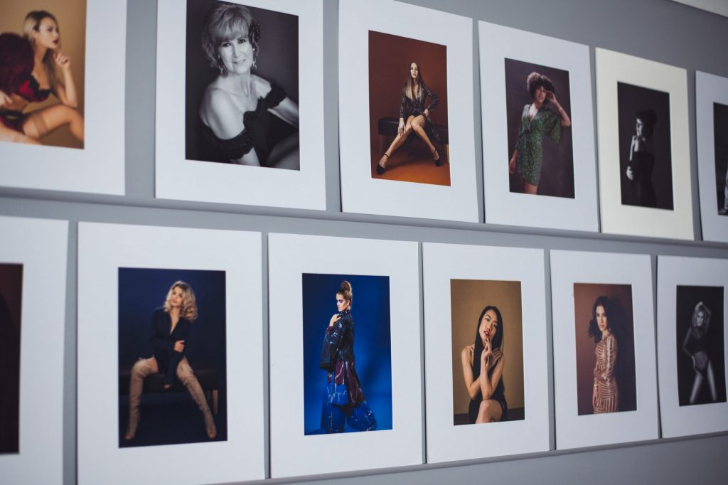 matted prints by Renata Clarke, the luxury boutique portrait photographer in Worcester
