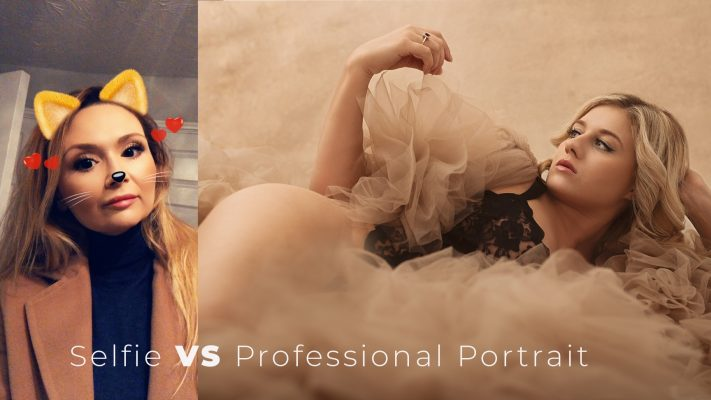 The Profound Difference Between Selfie and Professional Portrait